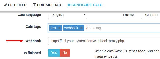 Calculoide-webhook-url