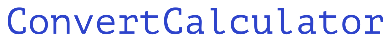 PřevéstCalculator