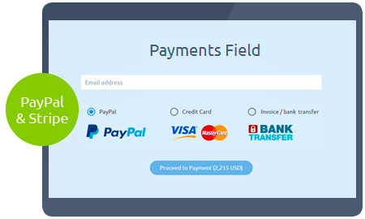 Calculoid-Funktionen Online-Zahlungsvorschau