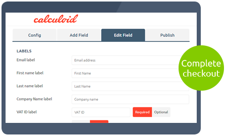 Fonctions Calculoid Paiement Checkout preview
