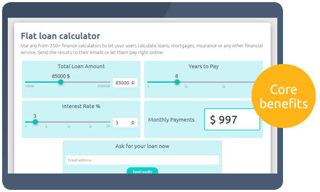 Calculoid Solutions Finance Calculator preview