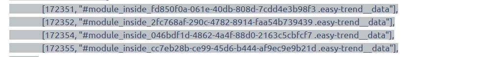 Идентификаторы формул калькулятора